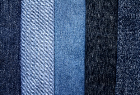 Fragment Background of jeans  Stock Photo