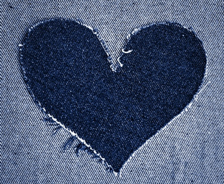 Heart of jeans  photo