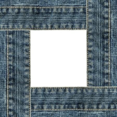 Frame of jeans