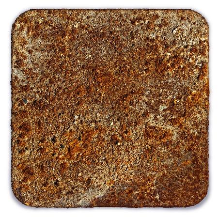 Rusty square Stock Photo