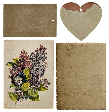 Collection of old cards Stock Photo - 18511580