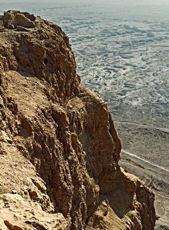 View  from fortress Masada, Israel