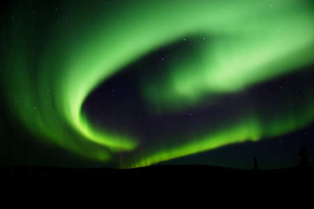 ionosphere: Aurora swirl