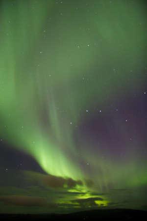 phenomena: Aurora Borealis near Fairbanks, AK