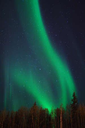 Aurora swirl photo