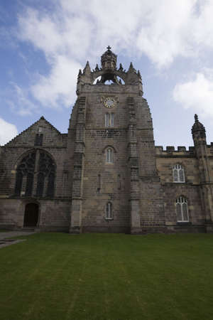 Front view of King;s College Chapel in Old Aberdeen, UK Stock Photo - 3879984