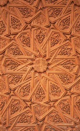 Islamic (Moorish) style. Detail of wall plaster. Great background