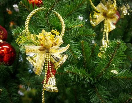 glare: Christmas decoration with shiny glare