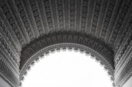 archtecture: Beautiful arc detail  Stock Photo