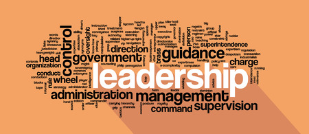 open minded: Leadership concept in word collage