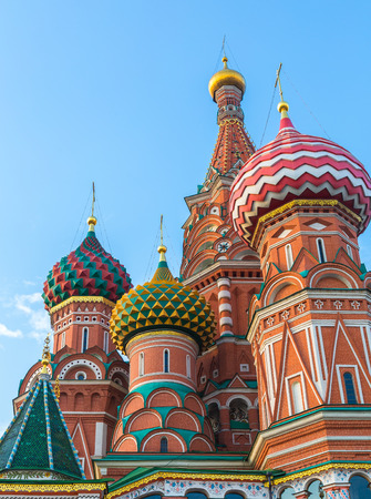 basils: Saint Basils Cathedral in Moscow, Russia