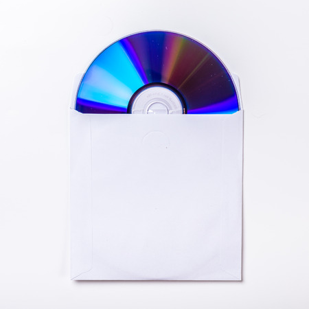 CD or DVD inside cover