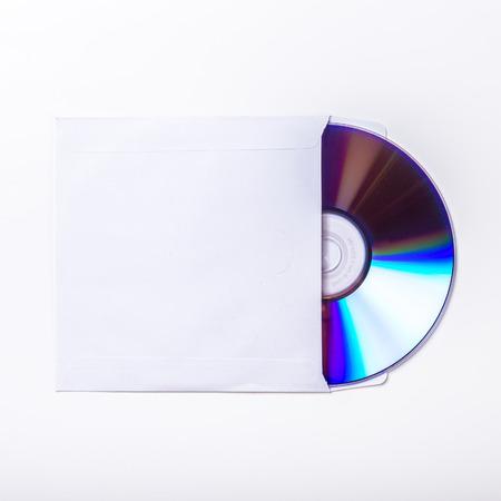 CD or DVD inside cover.