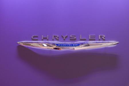 chrysler: MOSCOW, RUSSIA - SEPTEMBER 04, 2012: Emblem of Chrysler. Editorial