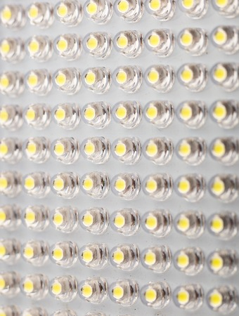diodes: LED panel with light emitting diodes