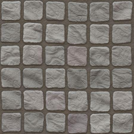 mosaic tile: piastrelle di pietre senza saldatura