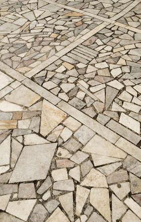 an image of cobblestone pavement photo