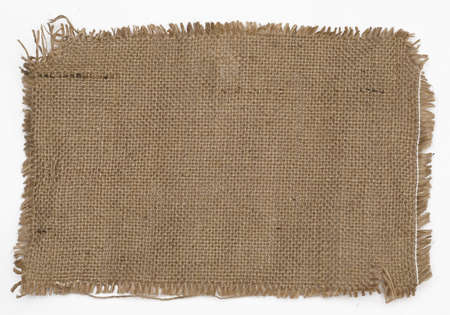 close-up view of sackcloth texture for background Stock Photo