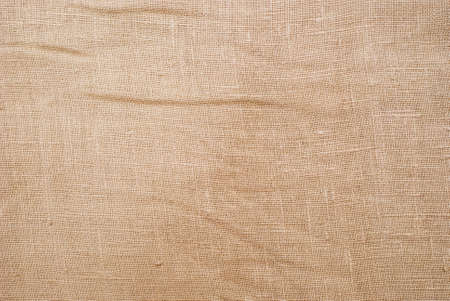close up view of sackcloth material