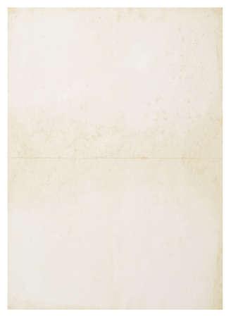alten Grunge leer groß wie isoliert auf weißem Hintergrund Lizenzfreie Bilder