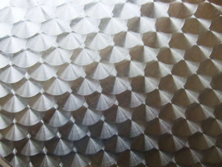 close-up view of a metallic surface great as a background Stock Photo - 3686552