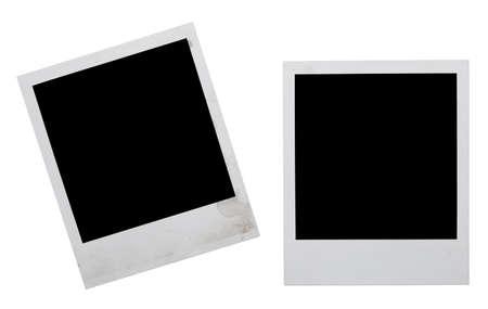 Fotorahmen isoliert auf weißem Lizenzfreie Bilder