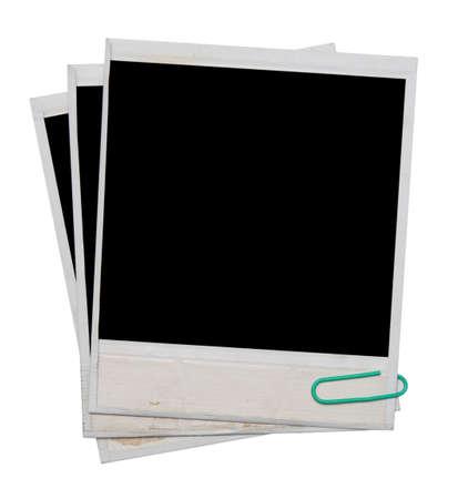 foto frame geïsoleerd op wit