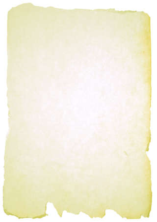 scroll background: paper texture over white background Stock Photo
