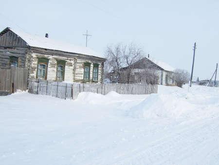 winter village Stock Photo - 8865699