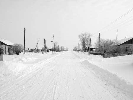 winter village Stock Photo - 8865711