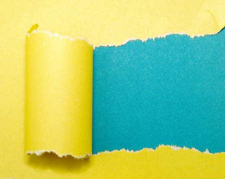 buntes Papier mit Raum