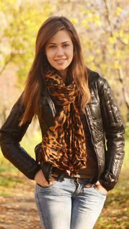 close up portrait of beautiful woman Stock Photo - 10859450
