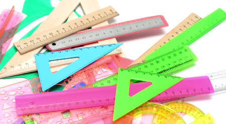 a lot of different rulers photo
