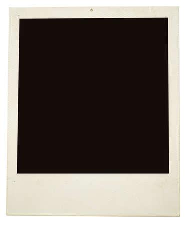 photo frame op wit wordt geïsoleerd