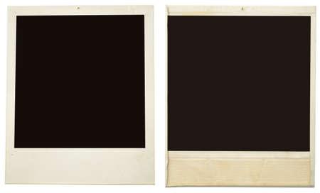 Bilderrahmen isoliert auf weiß Lizenzfreie Bilder
