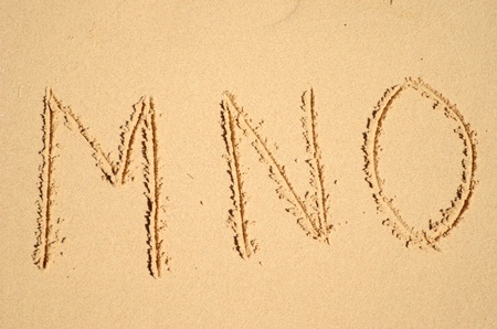 sand alphabet Stock Photo - 12673981