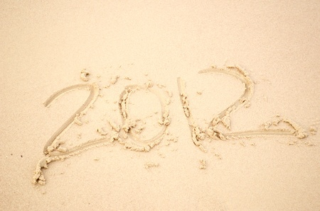 2012 on sand beach photo