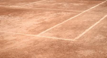 Tennis-Sandplatz