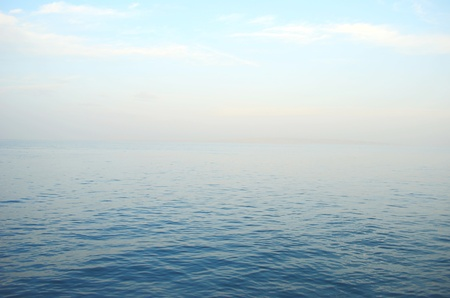 calm on the sea