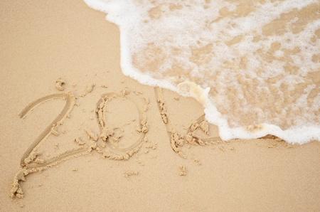 2012  erasing by wave photo