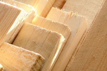 Stapel von einem hölzernen Planken Lizenzfreie Bilder - 15588896