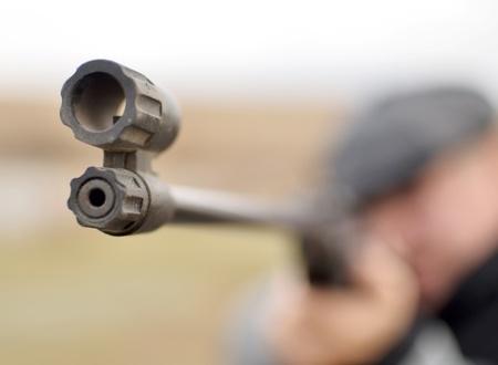 airgun: focus on the rifle barrel