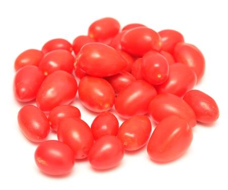 isoalated: cherry tomatoes isoalated on white