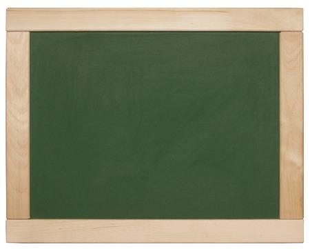ersatz: chalk board isolated on white
