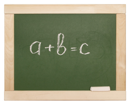 equation on blackboard photo