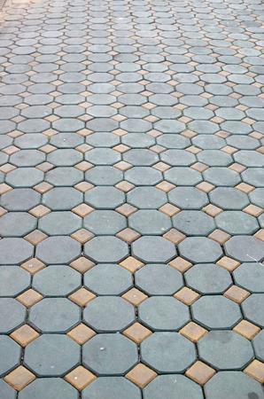 brick pavement stones