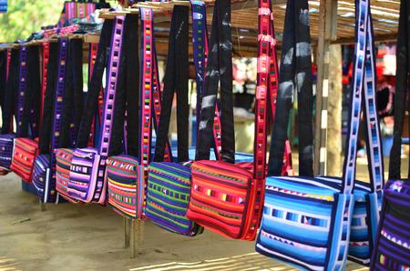 trinkets: shoulder bags at the market