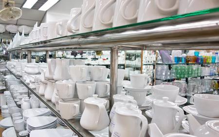 kitchen utensil shop photo