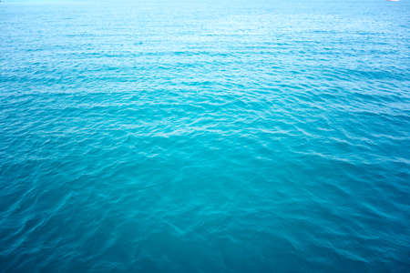blue sea: ocean water background Stock Photo