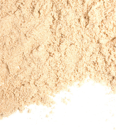great sand isolated on white background Stock Photo